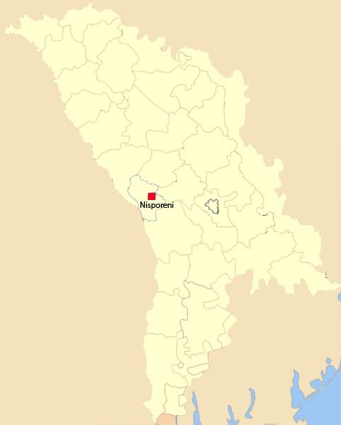 Harta Moldovei