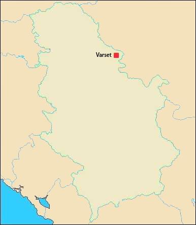 Harta Serbiei