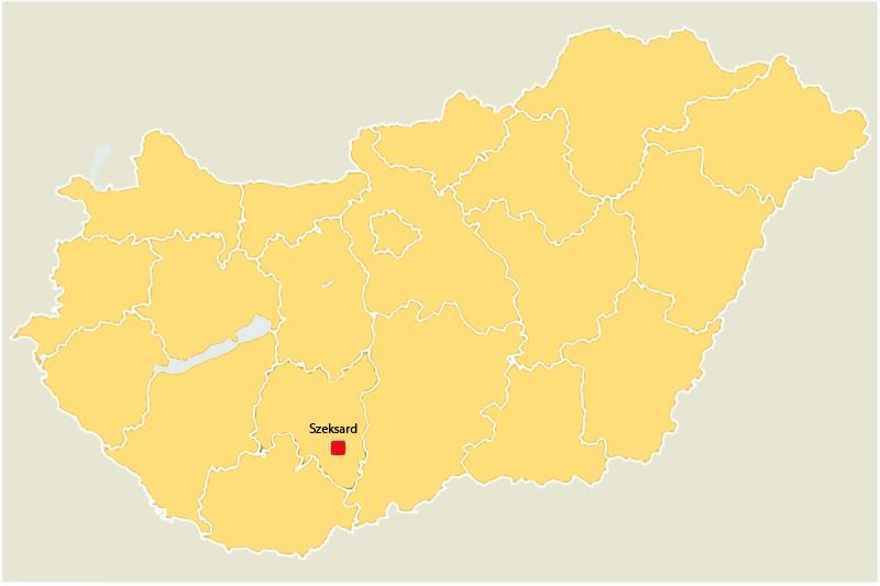 Harta Ungariei